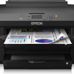 STAMPANTE EPSON INK WORKFORCE WF-7110DTW C11CC99302 A3+ 18PPM ISO USB WIFI LAN F/R WIFI DIRECT 2x250FG Fino:30
