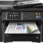 STAMPANTE EPSON INK MFC WORKFORCE WF-3640DTWF C11CD16302 A4 4in1 19PPM ISO F/R LCD TOUCH USB WIFI LAN ADF SD C