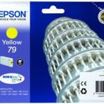 CARTUCCIA EPSON 79 Torre di Pisa C13T79144010 GIALLO X WorkForce Pro WF-5110DW, WF-5190DW WF-5620DWF, WF-5690D