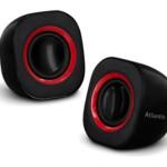 CASSE 440W ATLANTIS P003-C03-B NERE Mini per PC e portatile - USB - EAN: 8026974016443- GARANZIA 2 ANNI-