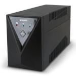 UPS ATLANTIS A03-SX80 600VA/300W Line Interactive AVR - Battery Stabiliz.con Presa 1 Schuko ed 1 IEC-GARANZIA