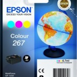CARTUCCIA EPSON 267 C13T26704010 3COLORI PER WORKFORCE WF-100W