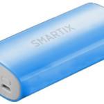 POWERBANK ATLANTIS P031-STA52-1A-BL 5200mAh 1A batt.- BLU/BIANCO - Conn.USB e MicroUSB (incl. cavo) - EAN: 802