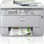 STAMPANTE EPSON MFC INK WORKFORCE PRO WF-M5690DWF MONOCROM C11CE37401 A4 4in1 34PPM 250FG LCD LAN WIFI DIRECT