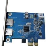 SCHEDA INTERFACCIA PCI-E > 2P USB3.0 ATLANTIS P001-USB30-PCX EAN 8026974013589 -GARANZIA 2 ANNI-