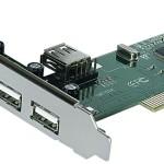 SCHEDA INTERFACCIA PCI >4+1P USB2.0 ATLANTIS P001-USB20-PCI EAN 8026974013015 -GARANZIA 2 ANNI-