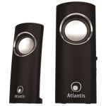CASSE 340W ATLANTIS P003-C12-B NERE LUCIDE con USCITA X ASCOLTO CUFFIE EAN 8026974013671 - GARANZIA 2 ANNI-