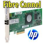 Scheda Host Bus Fibre Channel PCIe a una porta 4 GB HP FC1142SR LPE1150  QLE2460 - AE311A Server HP ML/DL/SL