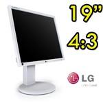 Monitor LCD LG Flatron E1910 19 Pollici VGA DVI AUDIO Gray Light 4:3