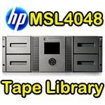 HP StorageWorks MSL4048 2 LTO-4 ULTRIUM 1840 Drive Tape Library AJ038A