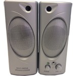 Casse Audio Altoparlanti per PC Multimedia Speaker 160 Watt Silver