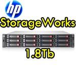 HP StorageWorks MSA2000 1800Gb 4x450Gb SAS Rack