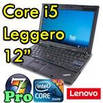 Notebook Lenovo Thinkpad X201 Core i5-520M 4Gb 250Gb 12.1' WXGA WEBCAM Windows 7 Professional
