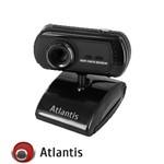 WEBCAM ATLANTIS P015-C177 8 Mpixel - Sens.CMOS - USB + MICROFONO integr. + Clip GARANZIA 2 ANNI