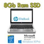 Notebook HP EliteBook 2560p Core i5 2540M 2.6GHz 4Gb 320Gb 12.5' HD WEBCAM Windows 7 Professional