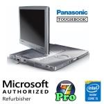 Notebook Panasonic Toughbook CF-C1 Core i5-2520M 4Gb 128Gb SSD 12.1' Touchscreen Windows 7 Pro + Docking