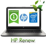 Notebook HP 15-ac158nl Core i3-5005U 4Gb 500Gb 15.6' HD BV LED WEBCAM Windows 10 1Y