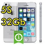 iPhone 5S 32Gb Argento A7 WiFi Bluetooth 4G Apple ME436B/A Silver iOS 10