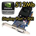 Scheda Video 512Mb MSI nVidia NVIDIA GeForce 310 DP 512MB DDR3 PCIe x16 P/N 572029-001