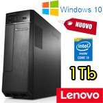 PC Lenovo H30-50 Core i3-4160 4Gb Ram 1Tb DVDRW NVIDIA GeForce GT 720 Windows 10 90B80041IX NUOVO 1Y
