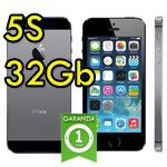 iPhone 5S 32Gb Grigio Siderale A7 Apple WiFi Bluetooth 4G ME436IP/A Space Gray iOS 10