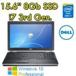 Notebook Dell Latitude E6530 Core i7-3540M 3.0GHz 4Gb 320Gb 15.6' DVDRW Windows 10 Professional
