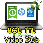 Notebook HP 15-ay010nl Core i5-6200U 8Gb 1Tb 15.6' HD BV LED AMD Radeon R5 M1-30 2GB Windows 10 1Y