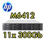 Storage HP M6412A Fibre Channel Drive Enclosure AG638-63011 con 13.6 Tera 12x300Gb