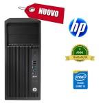 Workstation HP Z240 Core i5-6500 4Gb 1Tb DVDRW Intel HD Graphics 530 Windows 7/10 Professional NUOVA 3Y