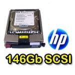 Hard disk per Server HP 146,8 GB SCSI 10.000 con slitta 306637-003