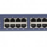 SWITCH 24 PORTE 10 100 1000 MBPS DA RACK