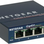 NETGEAR GS105GE SWITCH 5 PORTE 10 100 1000 MBPS METAL CASE