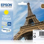 EPSON C13T70244010 CARTUCCIA ULTRA T7024 TORRE EIFFEL 213ML GIALLO XL