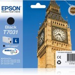 EPSON C13T70314010 CARTUCCIA T7031 BIG BEN  240 ML NERO STANDARD L