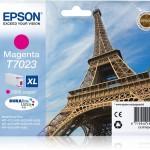 EPSON C13T70234010 CARTUCCIA T7023 TORRE EIFFEL 213 ML XL MAGENTA