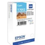 EPSON C13T70124010 CARTUCCIA T7012 PIRAMIDI ELEVATA XXL CIANO
