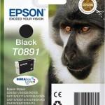 EPSON C13T08914011 CARTUCCIA ULTRA T0891 SCIMMIA 58 ML NERO