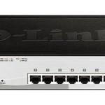 D-LINK DGS-1210-10P SWITCH 10P GIGABIT  8P POE  +2 MINIGBIC
