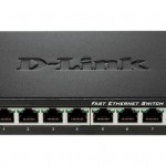 D-LINK DES-108 8PORT 10 100 FAST ETHERNET UNMANAGED METAL HOUSING