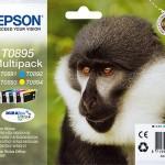 EPSON C13T08954010 MULTIPACK 4 CARTUCCE T0895 SCIMMIA
