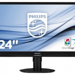 PHILIPS 241S4LCB/00 24 LED WIDE 1920X1080 5MS DVI VGA REG IN H PIVOT