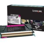 TONER LEXMARK MAGENTA PER X748 DA 10K