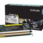 LEXMARK X748H1YG TONER LEXMARK GIALLO PER X748 DA 10K