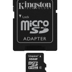 KINGSTON SDC4/16GB 16GB MICRO SD CLASSE 4
