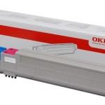OKI 43837130 CARTUCCIA TONER MAGENTA FINO A 22.000 PAGINE A4