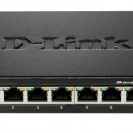 D-LINK DGS-108 SWITCH 8 PORTE GIGABIT ETHERNET - METAL HOUSING