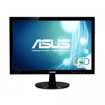 ASUS VS197DE LED 18.5/5MS/1366X768/50ML:1/VGA/250CD/BLACK
