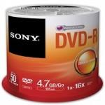 DVD-R 16X 4.7GB SPINDLE CONF.DA 50 PZ