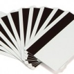 PVC WHITE CARDS 30ML HC MAG STRIPE 500 CARDS BOX