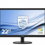 PHILIPS 223V5LSB2/10 21.5 LED 1920X1080 10000000 1 200CD M2 5MS VGA
